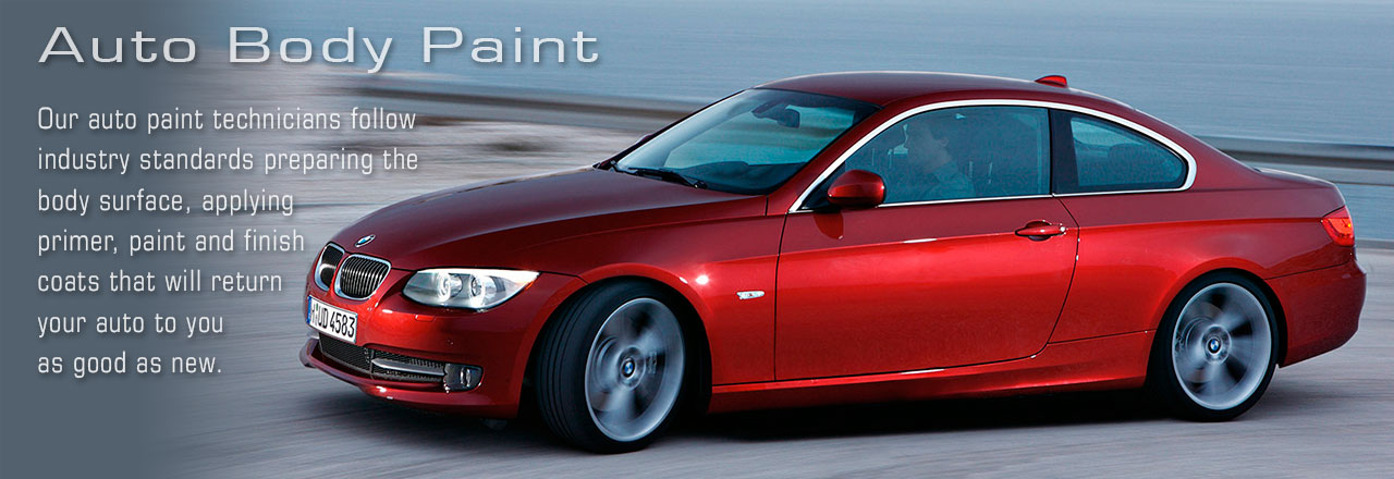 Auto Collision Center: Auto Body Repair, Auto Body Paint, Mechanical